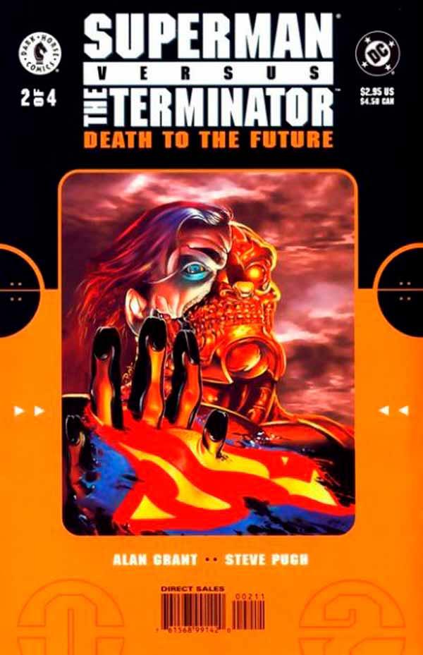 Супермен Против Терминатора: Смерть из Будущего #2 Superman vs. The Terminator: Death to the Future #2 читать скачать комиксы онлайн