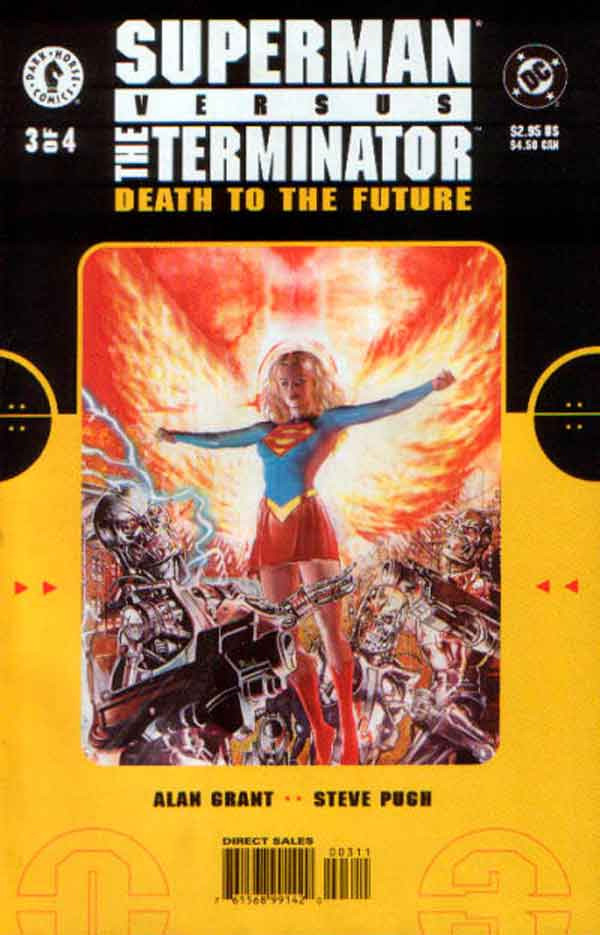 Супермен Против Терминатора: Смерть из Будущего #3 Superman vs. The Terminator: Death to the Future #3 читать скачать комиксы онлайн