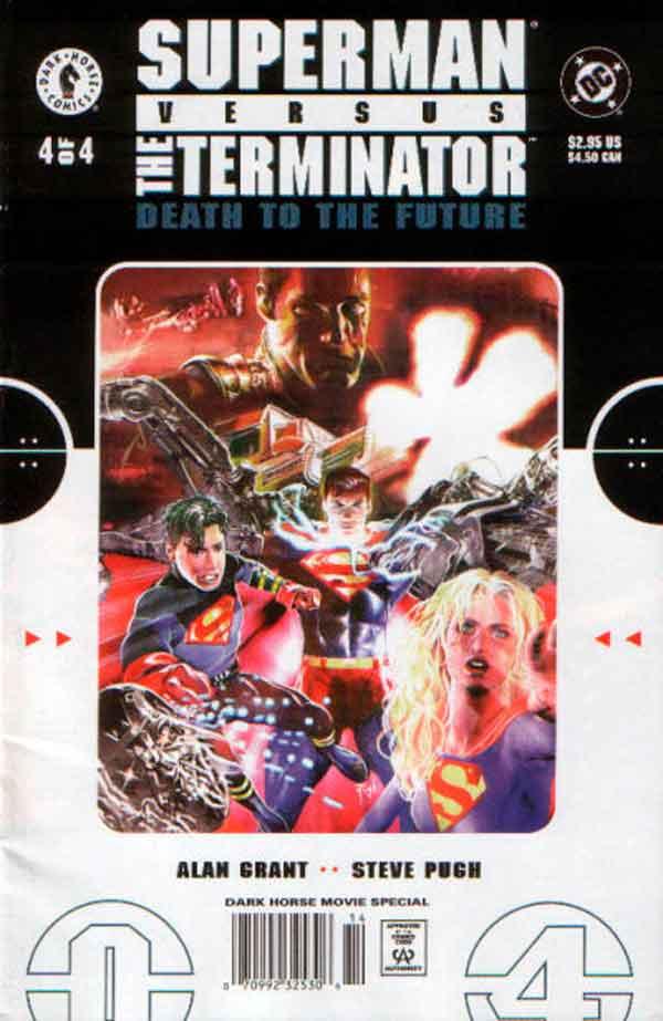 Супермен Против Терминатора: Смерть из Будущего #4 Superman vs. The Terminator: Death to the Future #4 читать скачать комиксы онлайн