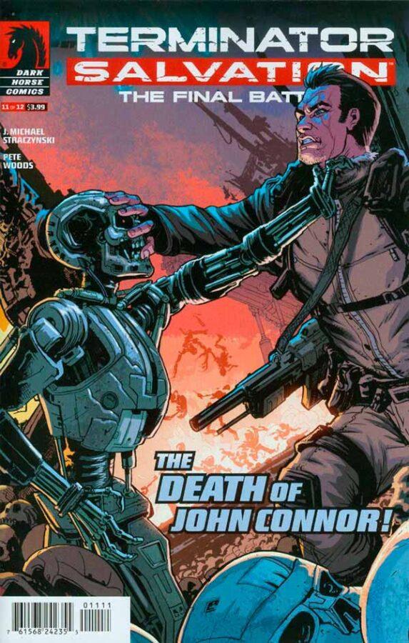 Terminator Salvation The Final Battle #11 Терминатор Спасение. Финальная битва #11 читать скачать комиксы онлайн