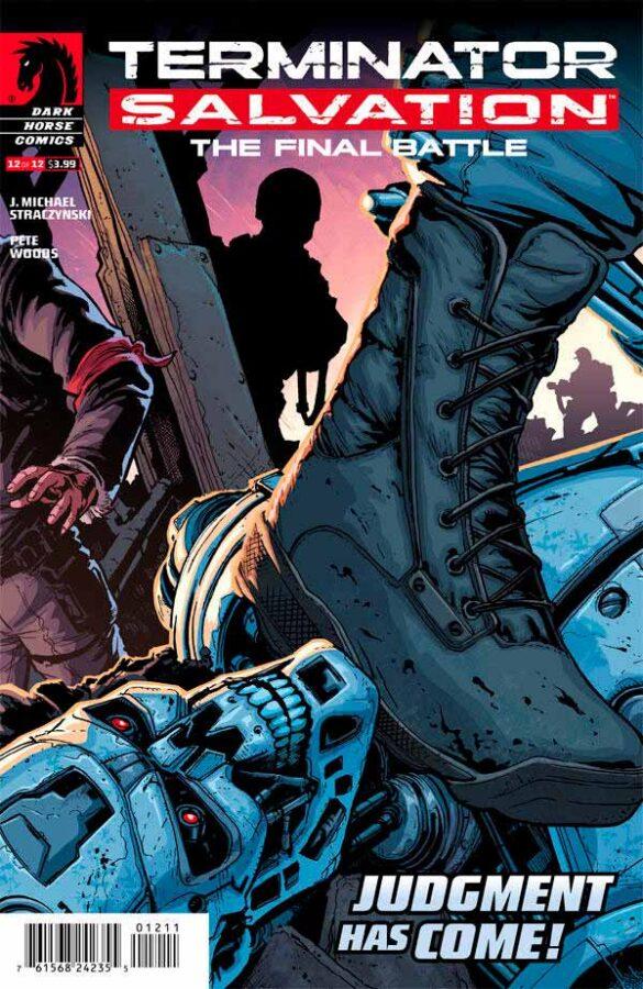 Terminator Salvation The Final Battle #12 Терминатор Спасение. Финальная битва #12 читать скачать комиксы онлайн