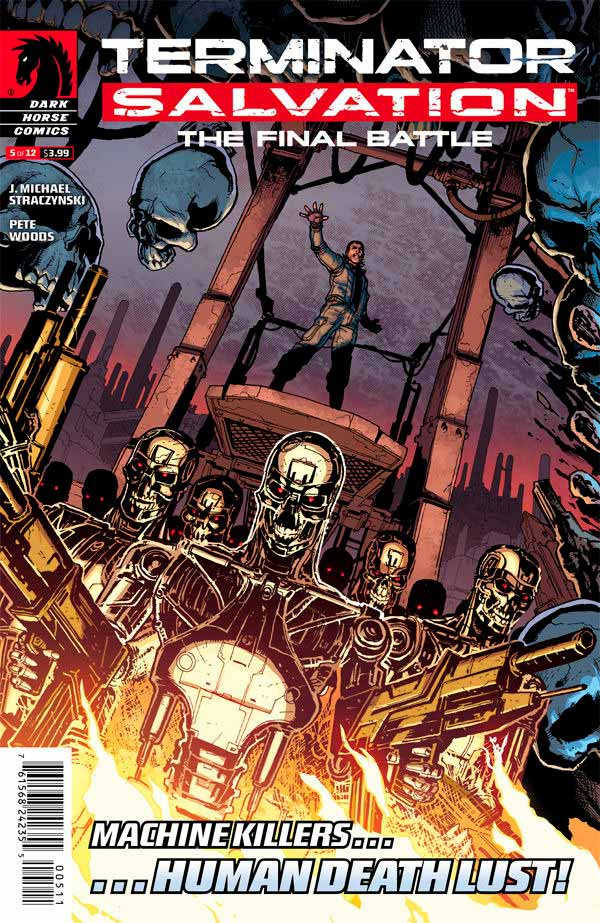 Terminator Salvation The Final Battle #5 Терминатор Спасение. Финальная битва #5 читать скачать комиксы онлайн