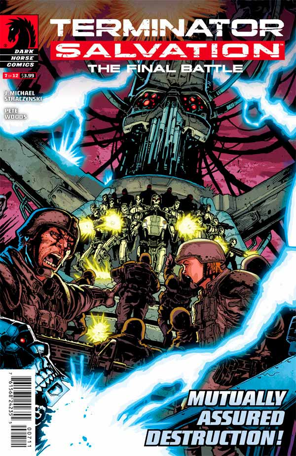 Terminator Salvation The Final Battle #7 Терминатор Спасение. Финальная битва #7 читать скачать комиксы онлайн