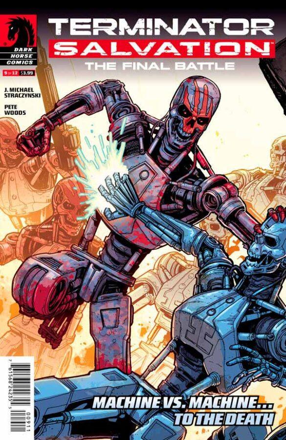 Terminator Salvation The Final Battle #9 Терминатор Спасение. Финальная битва #9 читать скачать комиксы онлайн