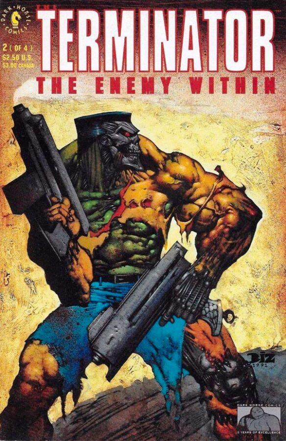 The Terminator: The Enemy Within #1-4 Терминатора Враг Внутри #1-4 читать скачать комиксы онлайн