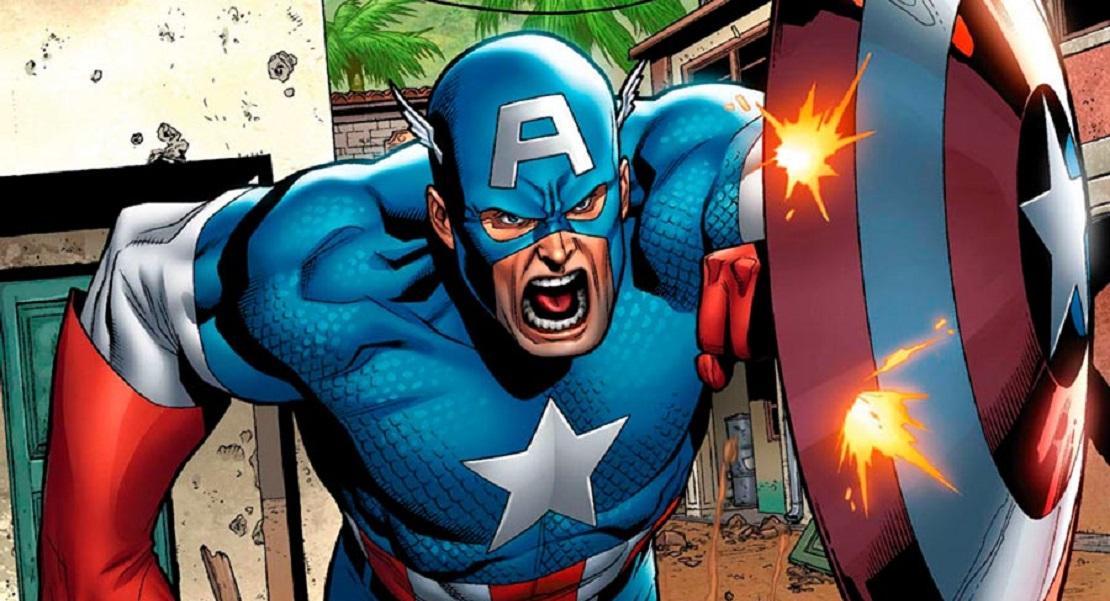 captain america 1610, Современный Капитан Америка, Ultimate Captain America