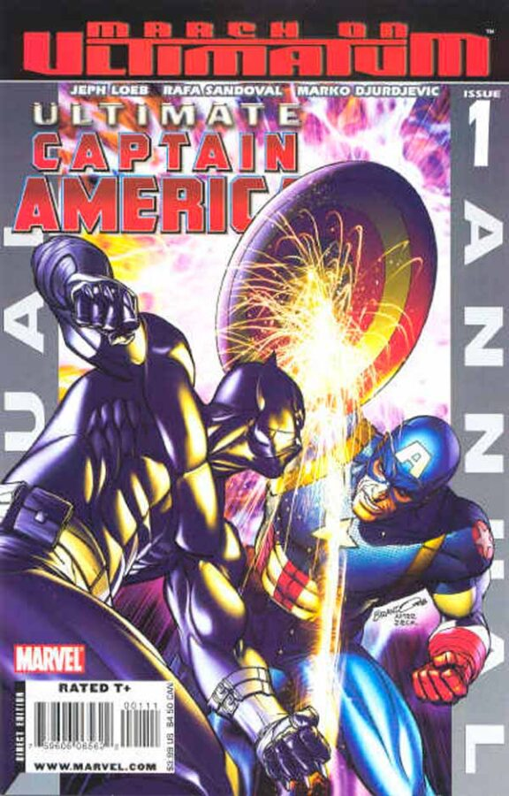 Безупречный Капитан Америка Ежегодник Том 1 #1 Ultimate Captain America Annual Vol 1 #1 скачать читать комиксы онлайн