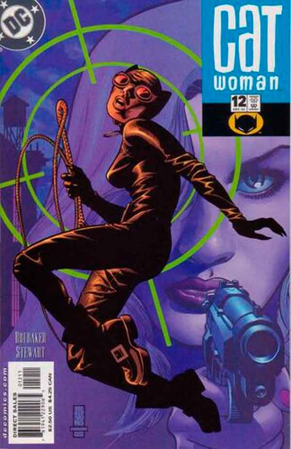 Женщина Кошка Том 3 #12, Catwoman #12 Vol 3, комиксы женщина кошка