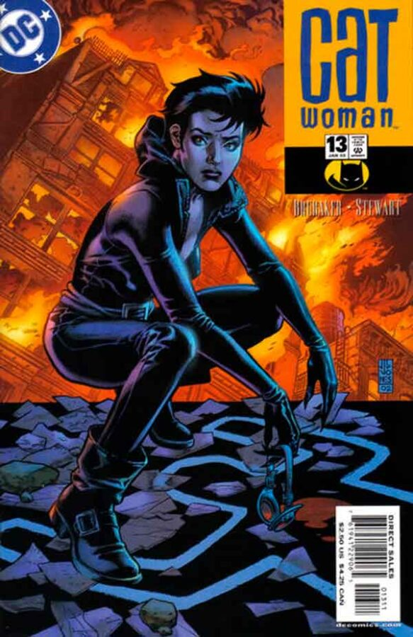 Женщина Кошка Том 3 #13, Catwoman #13 Vol 3, комиксы женщина кошка