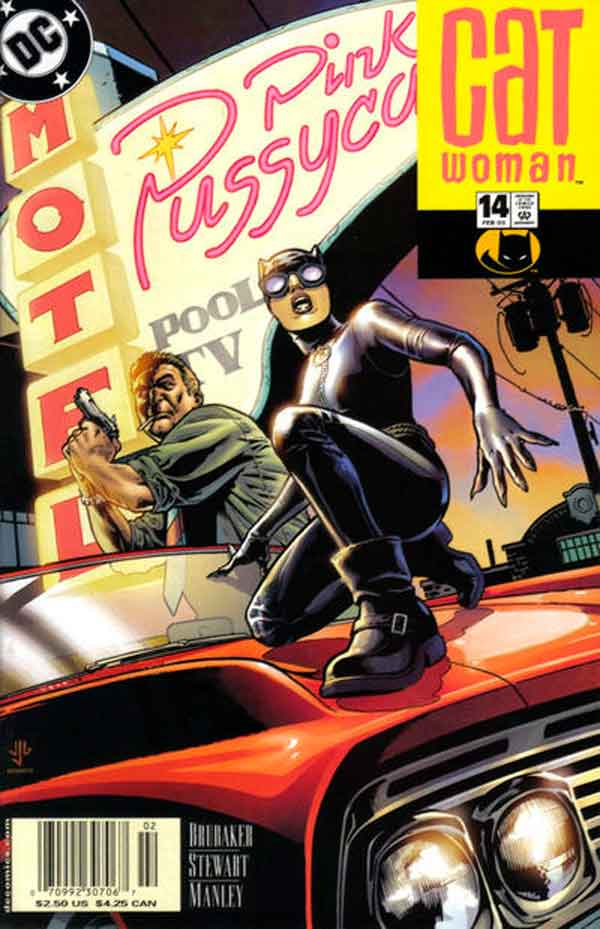 Женщина Кошка Том 3 #14, Catwoman #14 Vol 3, комиксы женщина кошка