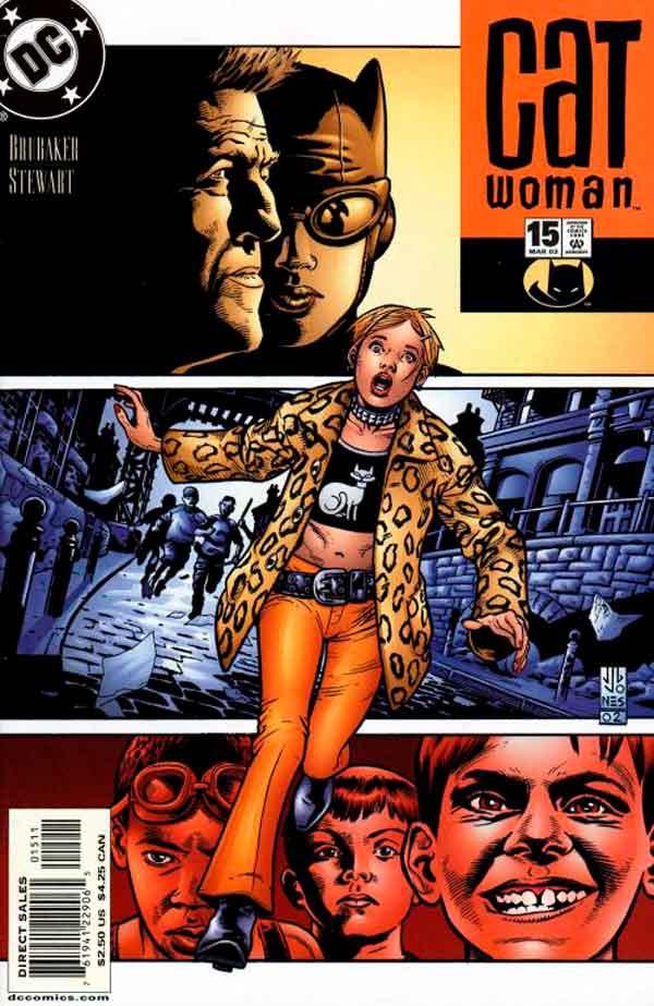 Женщина Кошка Том 3 #15, Catwoman #15 Vol 3, комиксы женщина кошка
