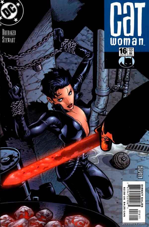 Женщина Кошка Том 3 #16, Catwoman #16 Vol 3, комиксы женщина кошка