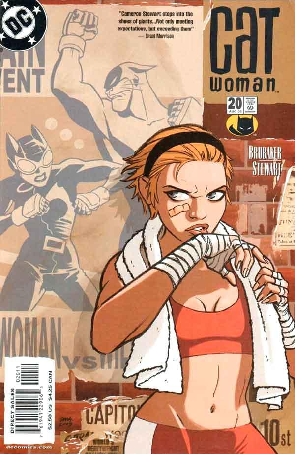 Женщина Кошка Том 3 #20, Catwoman #20 Vol 3, комиксы женщина кошка