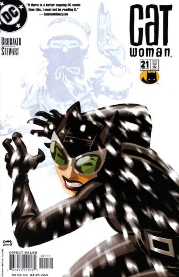 Женщина Кошка Том 3 #21, Catwoman #21 Vol 3, комиксы женщина кошка