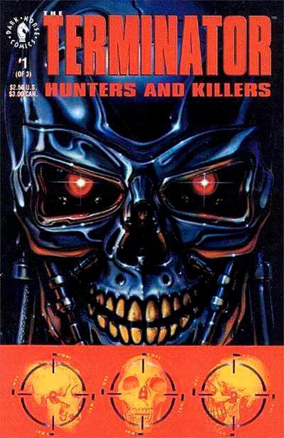 The Terminator: Hunters and Killers #1-3 Терминатор: Охотники и убийцы #1-3 читать скачать комиксы онлайн