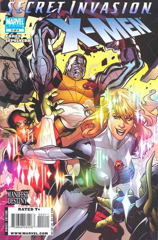 Secret Invasion: X-Men Vol 1 #3 Секретное Вторжение: Люди-Икс Том 1 #3 читать скачать комиксы онлайн