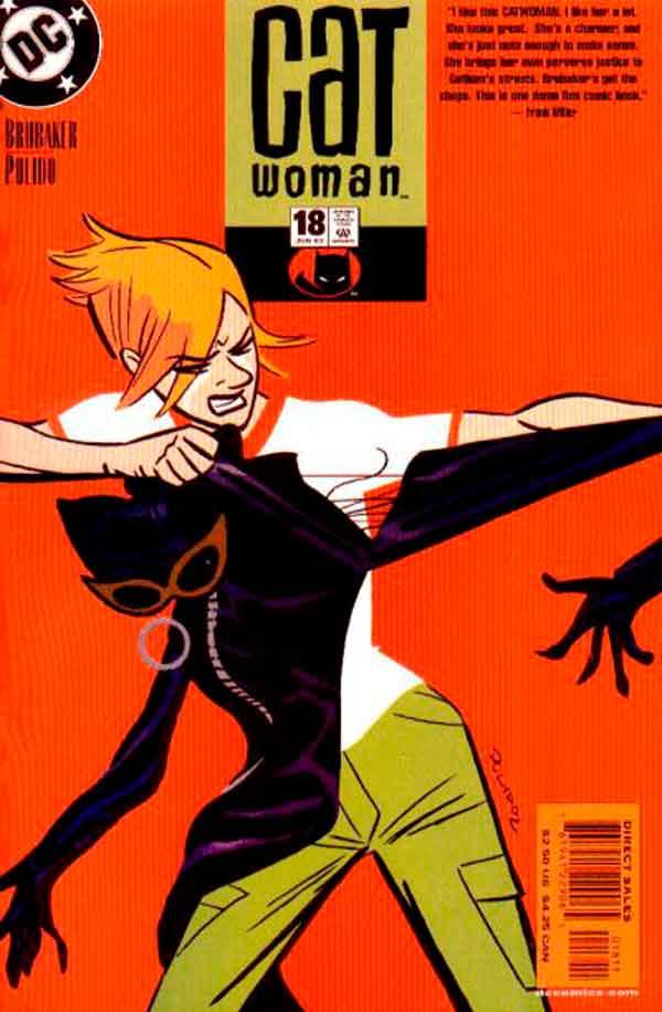 Женщина Кошка Том 3 #18, Catwoman #18 Vol 3, комиксы женщина кошка