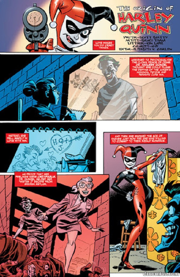 Харли Квинн и Джокер, комиксы Харли Квинн, комиксы Джокер читать