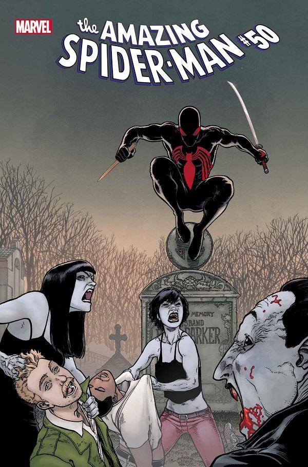 Amazing Spider-Man # 50 Vol 5, Удивительный Человека-паука #50 Том 5, комиксы Человек-Паук, Питер Паркер