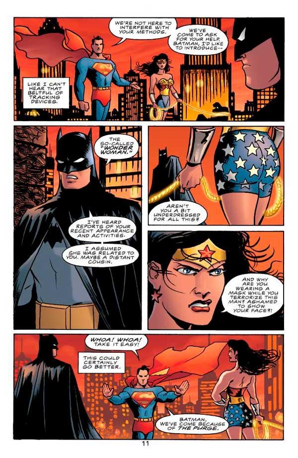 Batman/Superman/Wonder Woman: Trinity, Бэтмен / Супермен / Чудо-женщина: Тринити, комиксы про Бэтмена