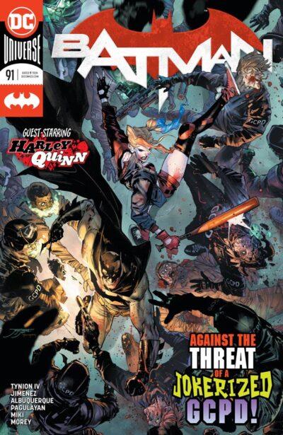 Бэтмен Том 3 #91, Batman Vol 3 #91 читать скачать комиксы онлайн