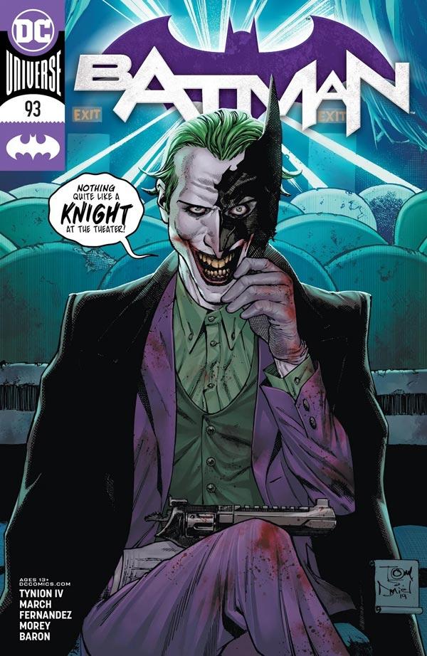 Бэтмен Том 3 #93, Batman Vol 3 #93 читать скачать комиксы онлайн
