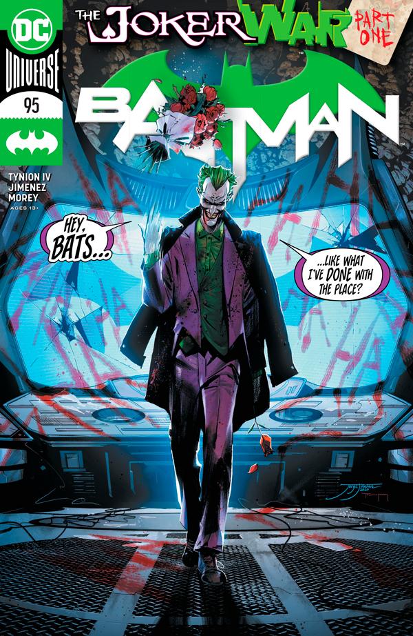 Бэтмен Том 3 #95, Batman Vol 3 #95 читать скачать комиксы онлайн