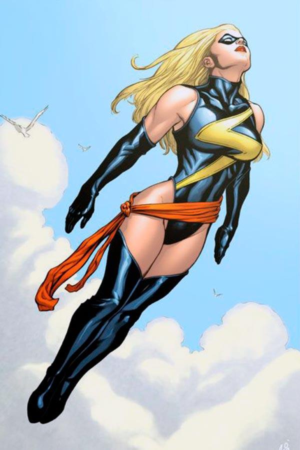 Кэрол Дэнверс Carol Danvers биография персонажа читать скачать комиксы Мисс Марвел
