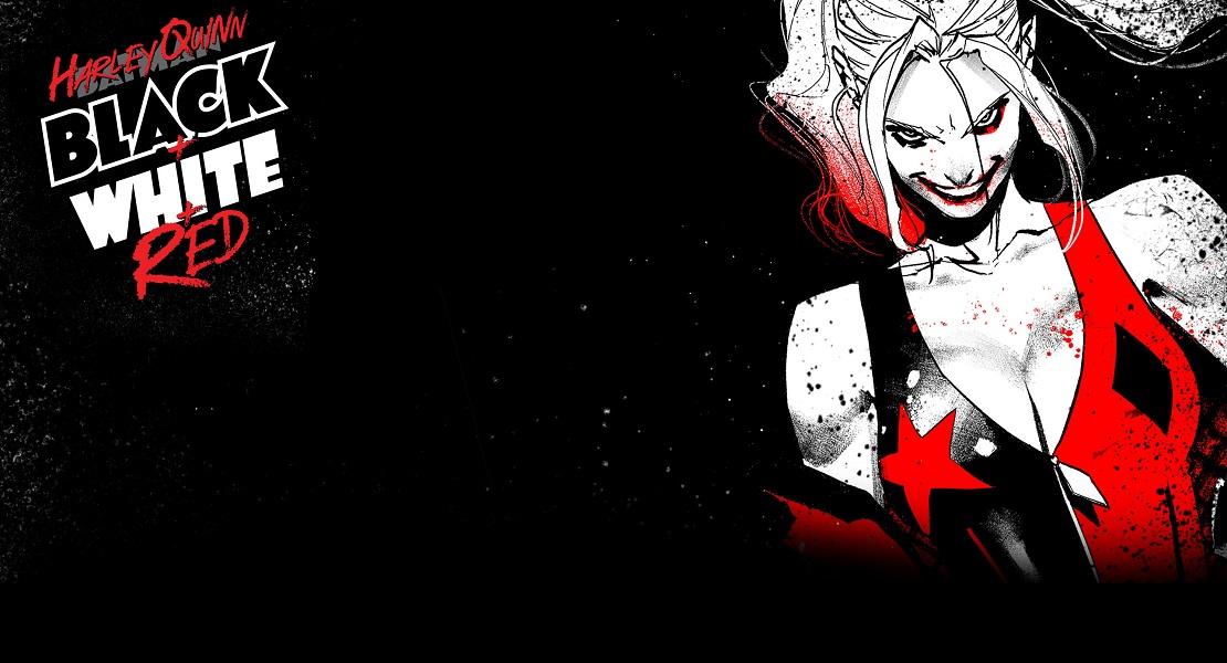 Харли Квинн: черный + белый + красный комиксHarley Quinn Black White and Red #1