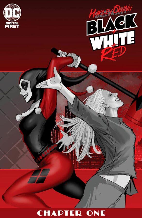 Harley Quinn Black + White + Red Vol 1 #1 Харли Квинн Черное Белое Красное Том 1 #1 читать скачать комиксы онлайн