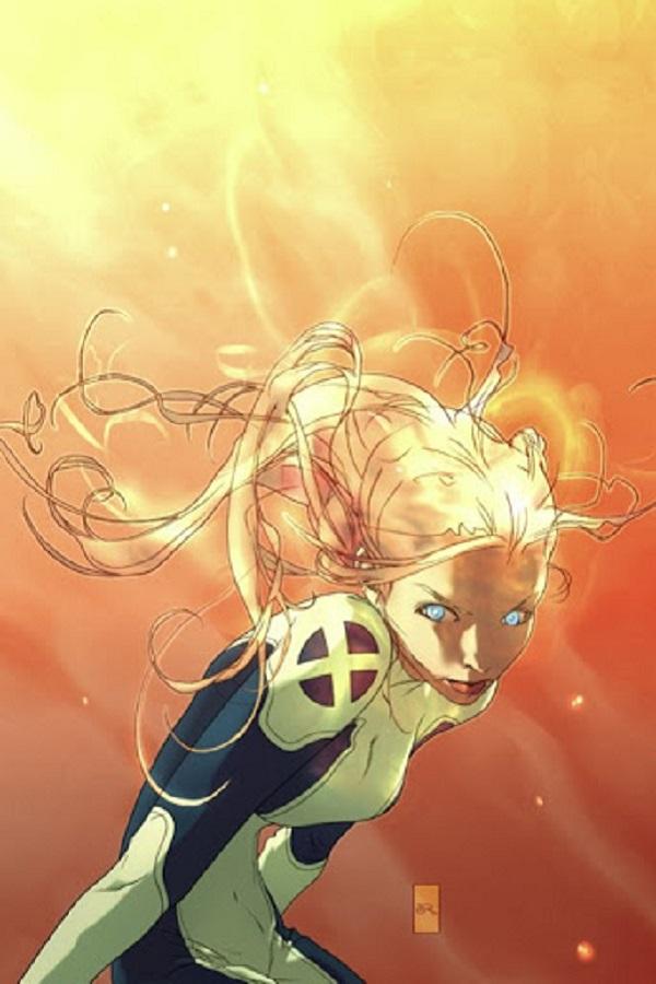 Magma - Амара Агилла (Amara Aquilla), комиксы Новые Мутанты, комиксы Люди Икс