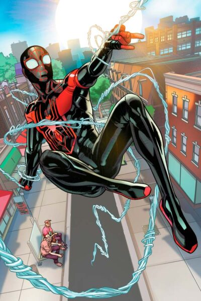 Miles Morales, Майлз Моралез биография персонажа, читать комиксы Человек-паук