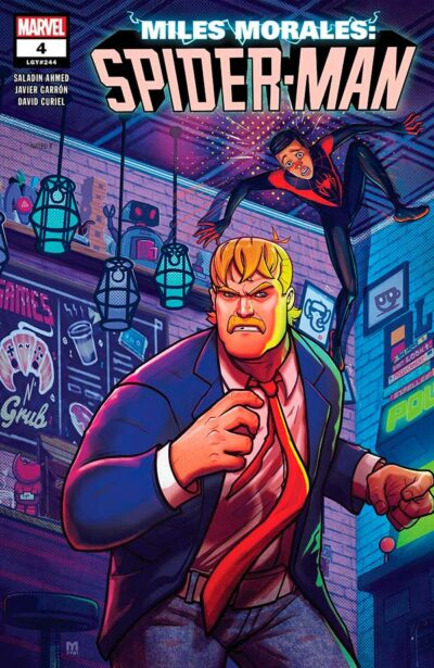 Miles Morales: Spider-Man Vol 1 #4 Майлз Моралес: Человек-Паук Том 1 #4 читать скачать комиксы онлайн