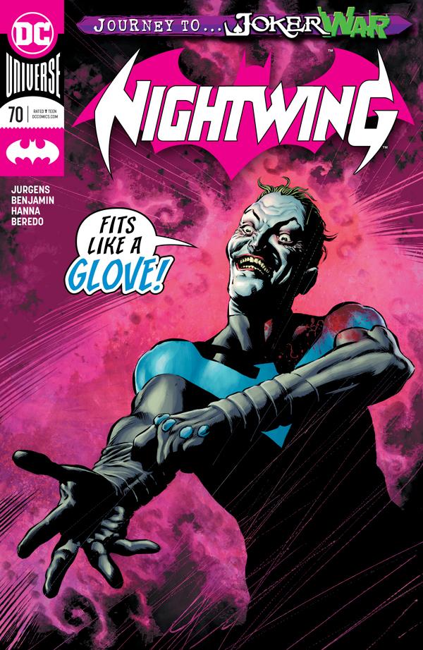 Найтвинг Том 4 #70, Nightwing Vol 4 #70 читать скачать комиксы