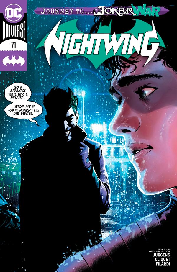 Найтвинг Том 4 #71, Nightwing Vol 4 #71 читать скачать комиксы