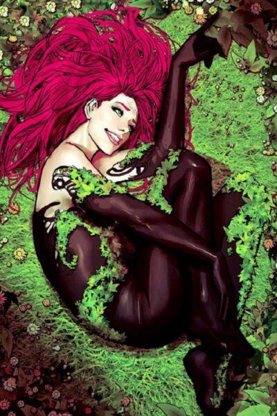 Ядовитый Плющ (Poison Ivy) биография персонажа, читать комиксы Ядовитый Плющ (Poison Ivy)
