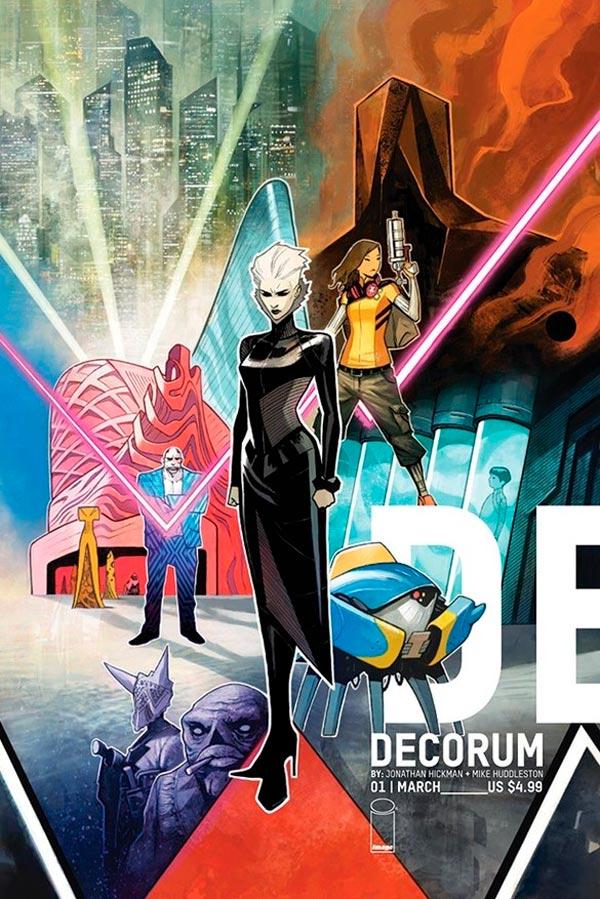 Декорум #1, Decorum #1 читать скачать комиксы Image