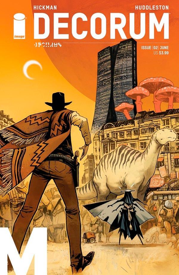 Декорум #2, Decorum #2 читать скачать комиксы Image