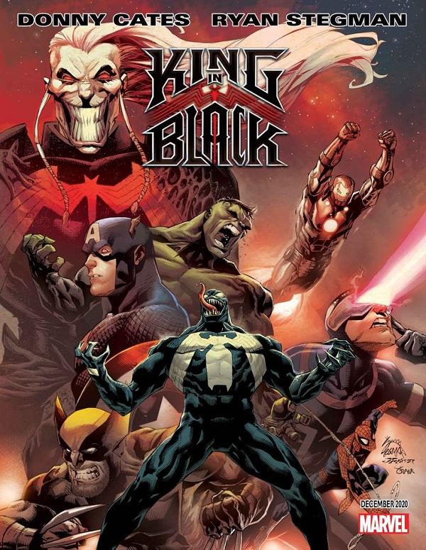 Веном: Король в Чёрном, комиксы Марвел, комиксы Веном читать