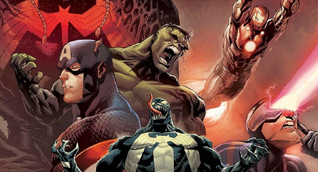 Venom: King in Black , Веном Король в Чёрном комиксы Марвел, читать комиксы Веном