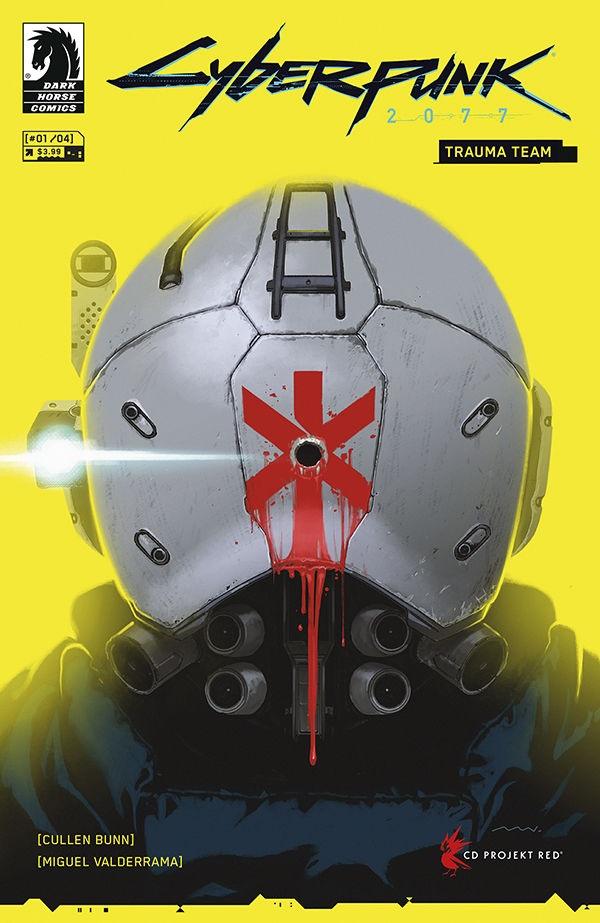 Киберпанк 2077: Команда Траума (Cyberpunk 2077: Trauma Team), комиксы Киберпанк 2077