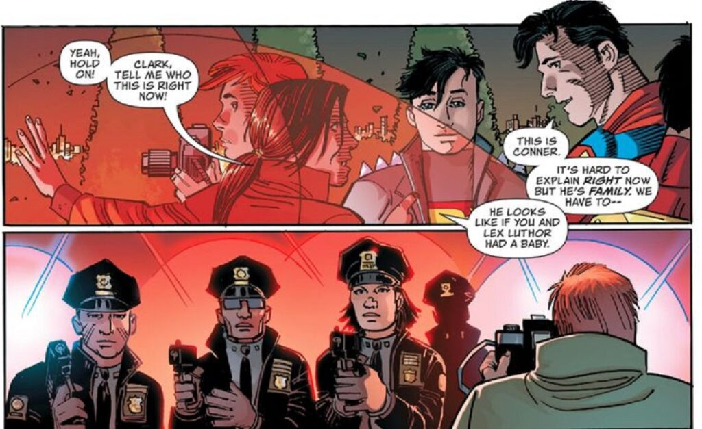 Коннер Кент, Супермен, комиксы о Супермене