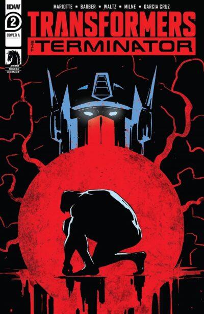 Transformers vs The Terminator #2, Трансформеры против терминатора #2 читать комиксы онлайн