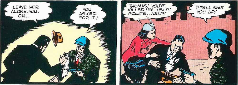 Томас и Марта Вейн, Джо Чилл, Убийство родителей Бэтмена