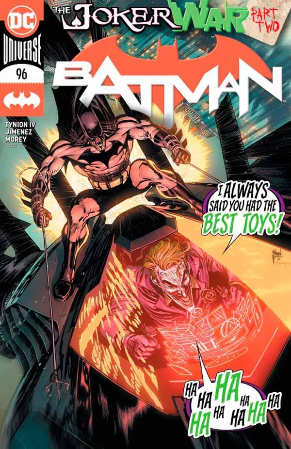 Бэтмен Том 3 #96, Batman Vol 3 #96 читать скачать комиксы онлайн
