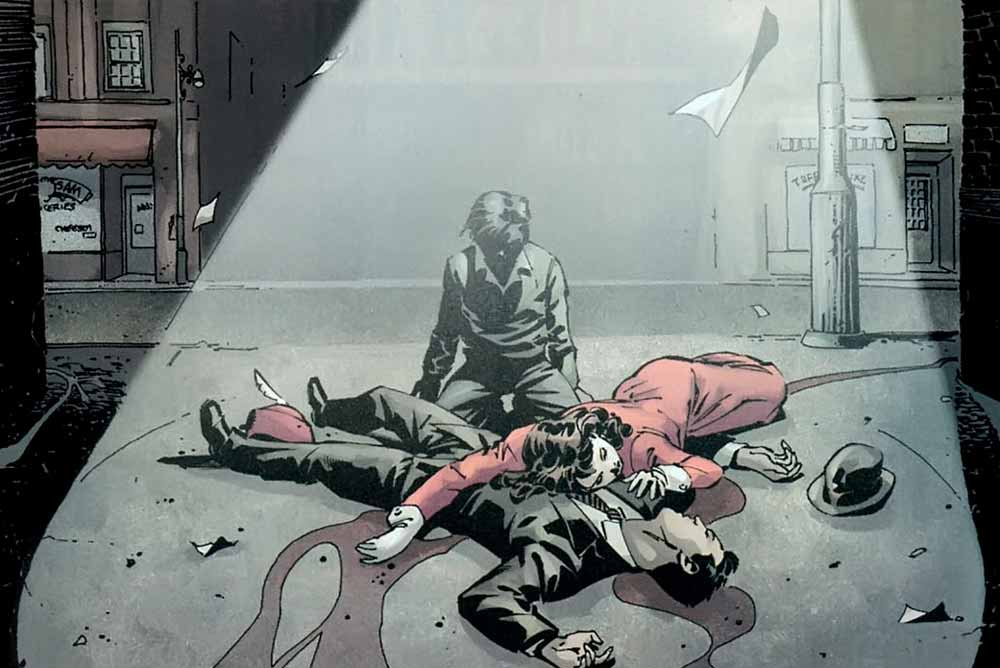 Убийство родитилей Бэтмена, Бэтмен родители Томас и Марта Вейн