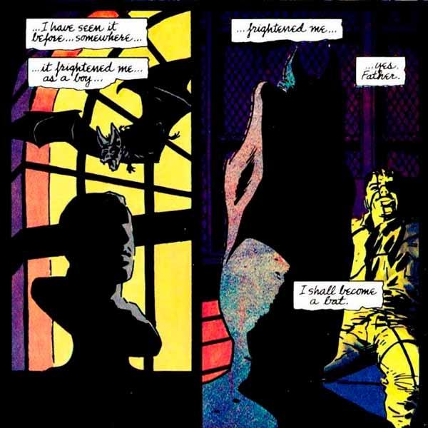 Бэтмен, Летучая мышь, Тёмный рыцарь комиксы