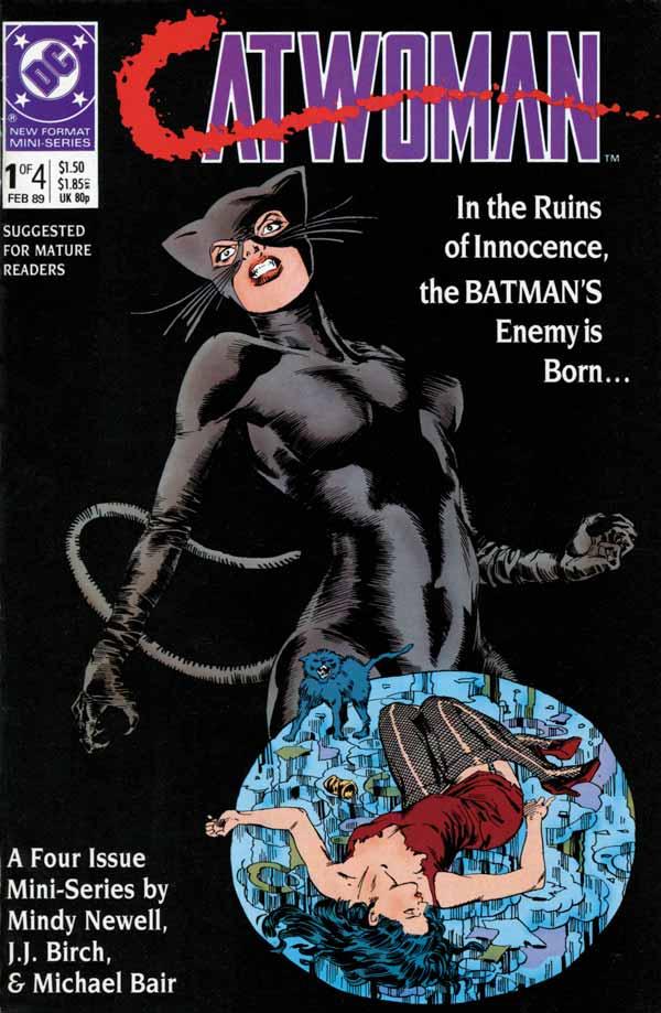 Catwoman Vol 1 #1, Женщина-кошка. Том 1 #1 читать скачать комиксы онлайн