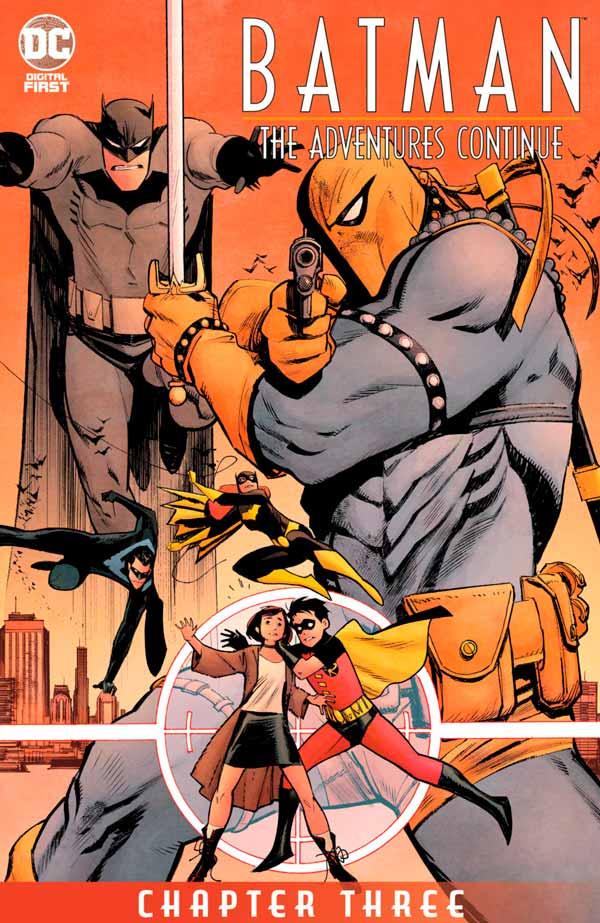Batman: The Adventures Continue #3, Бэтмен Приключения Продолжаются #3