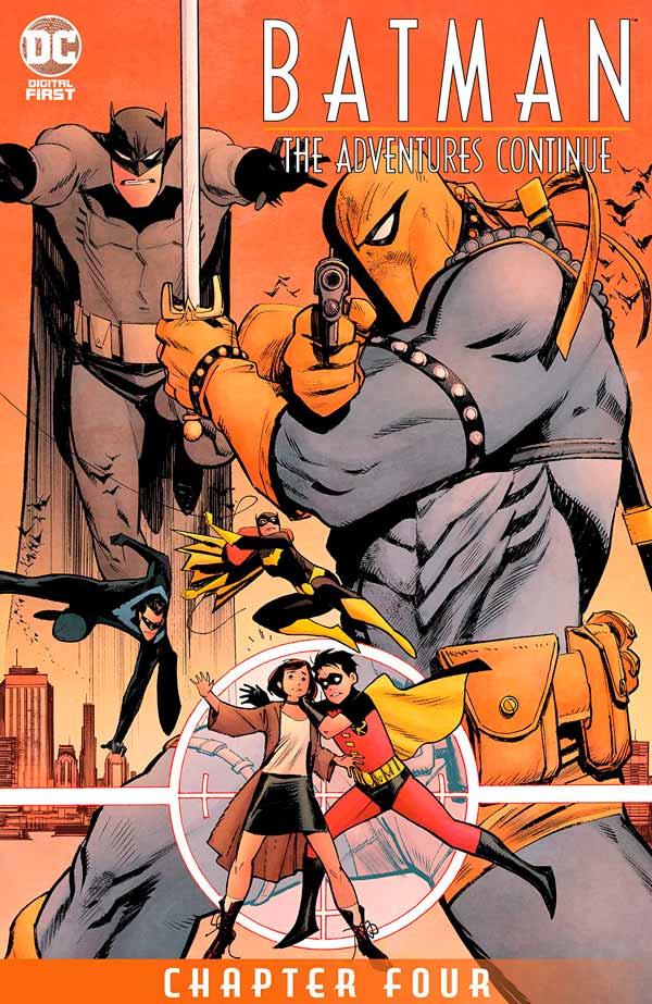 Batman: The Adventures Continue #4, Бэтмен Приключения Продолжаются #4